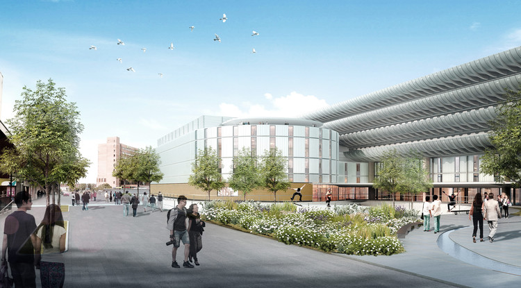 Recently Formed New York Practice Wins Competition to Reimagine Preston Bus Station, Winning Proposal. Image Courtesy of John Puttick Associates