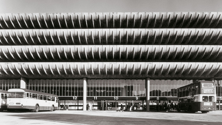 Preston Bus Station: What Does the Winning Proposal Say About Open-Call Competitions?, Preston Bus Station (1969). Image via BDP