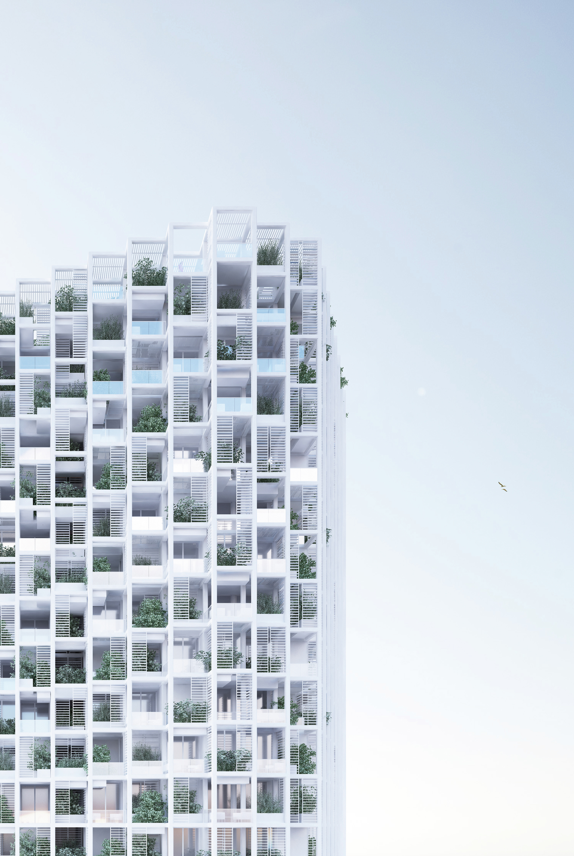 Penda to build modular customizable housing tower in for Building an estate