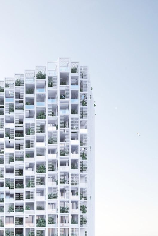 Penda Dise 241 A Edificio Con Viviendas Modulares Y