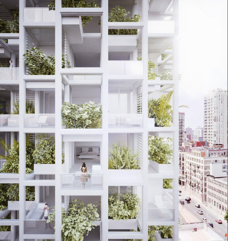 penda to Build Modular, Customizable Housing Tower in India | ArchDaily