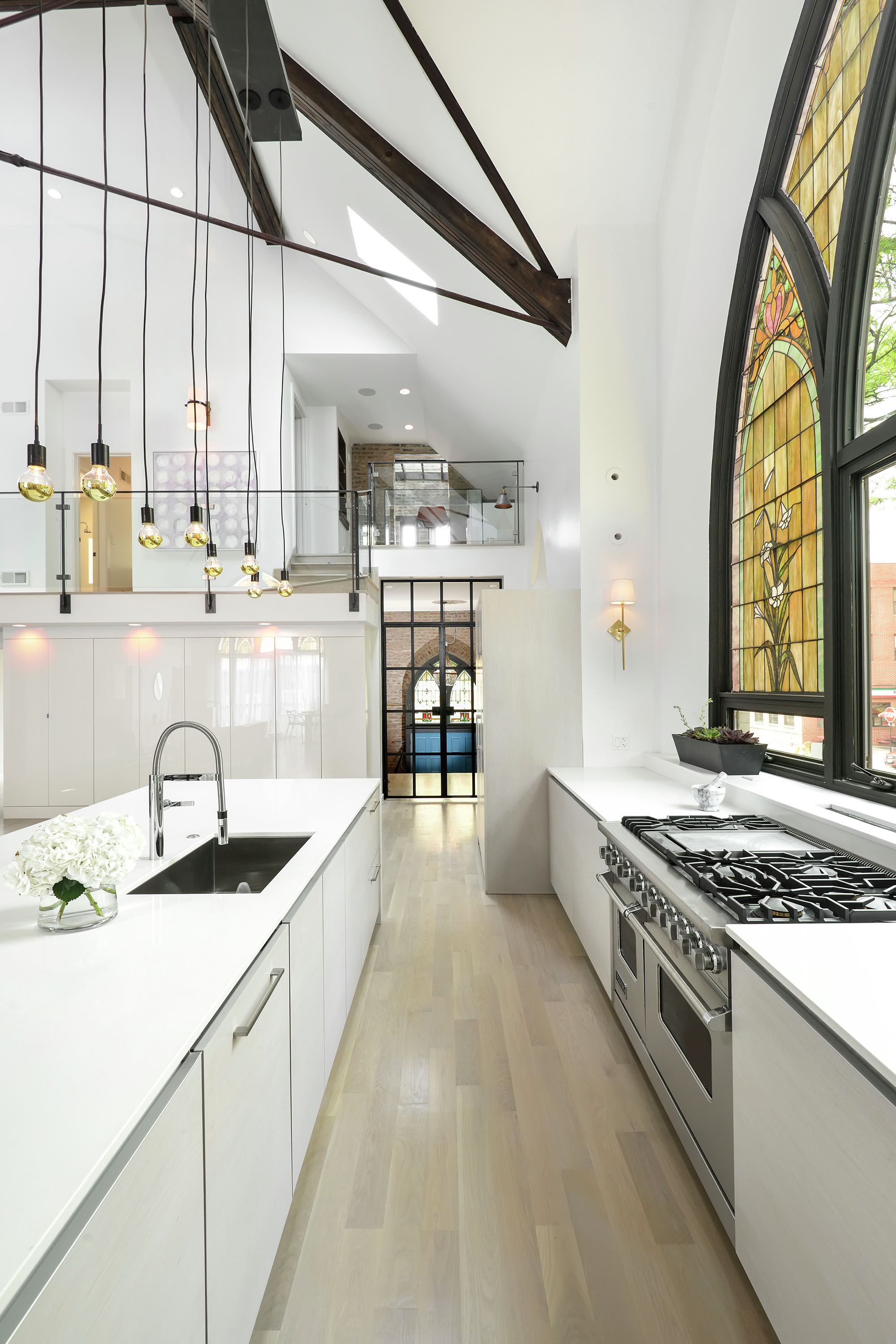 Church Conversion Into A Residence Linc Thelen Design Scrafano Architects Archdaily