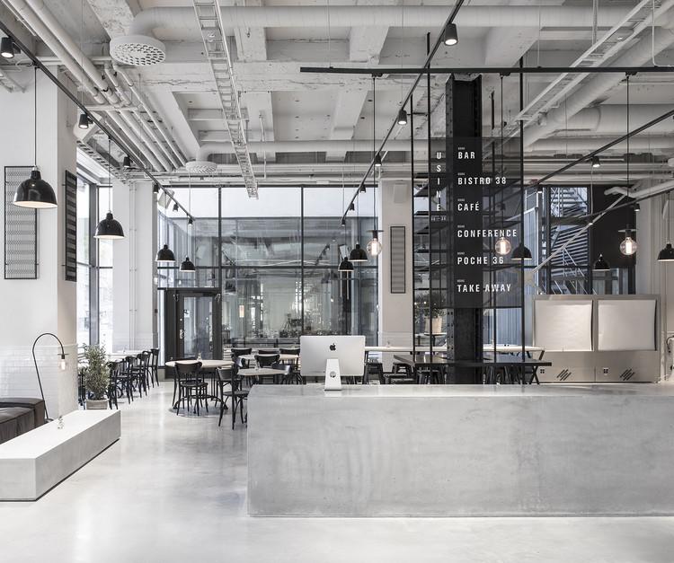 Usine Restaurant / Richard Lindvall, © Mikael Axelsson