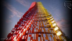 CRG Envisions Shipping Container Skyscraper Concept for Mumbai