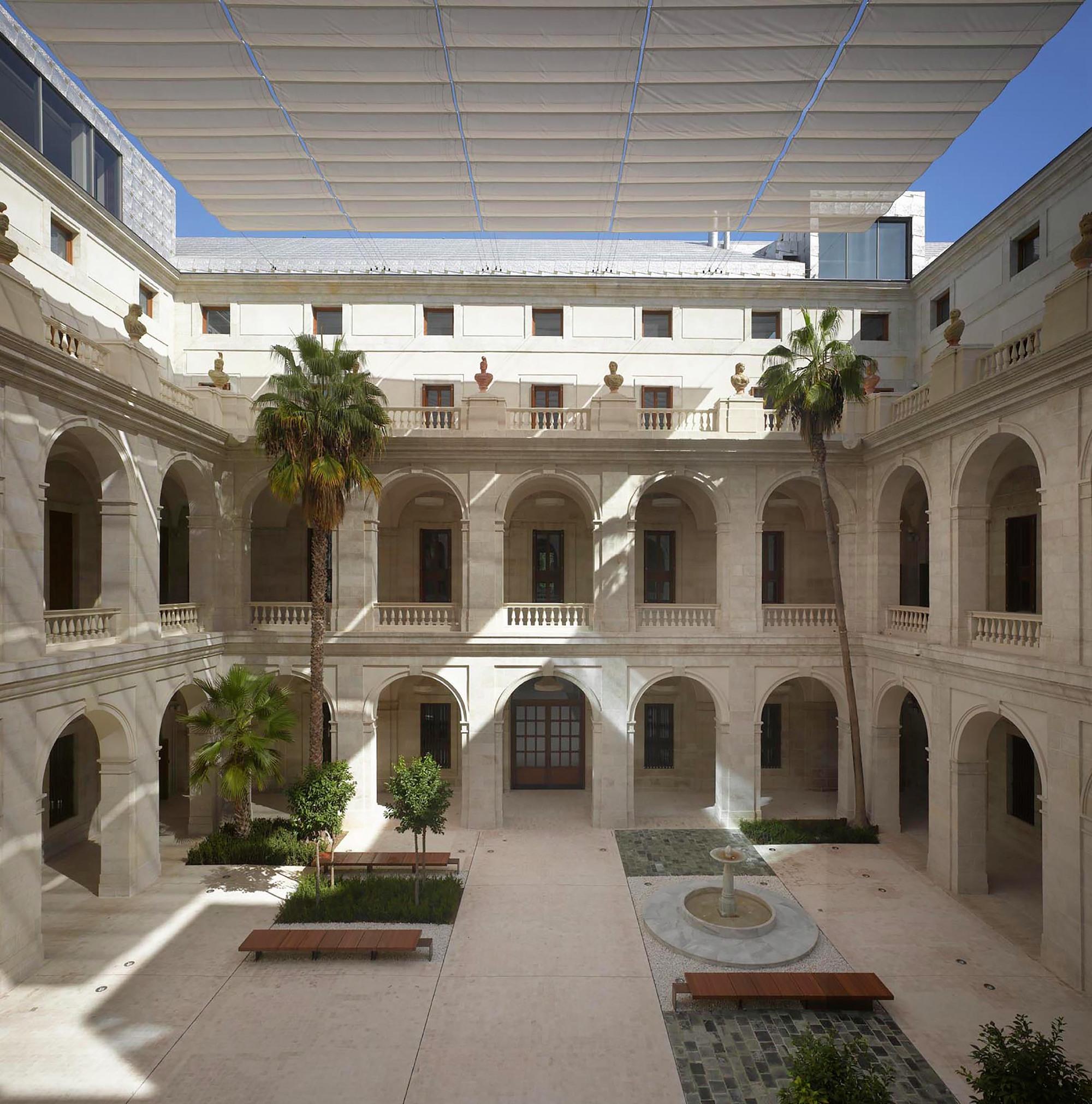 M laga museum pardo tapia arquitectos archdaily - Arquitectos interioristas malaga ...