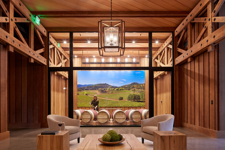 Joseph Phelps Vineyards / BCV Architects, © Bruce Damonte Photography