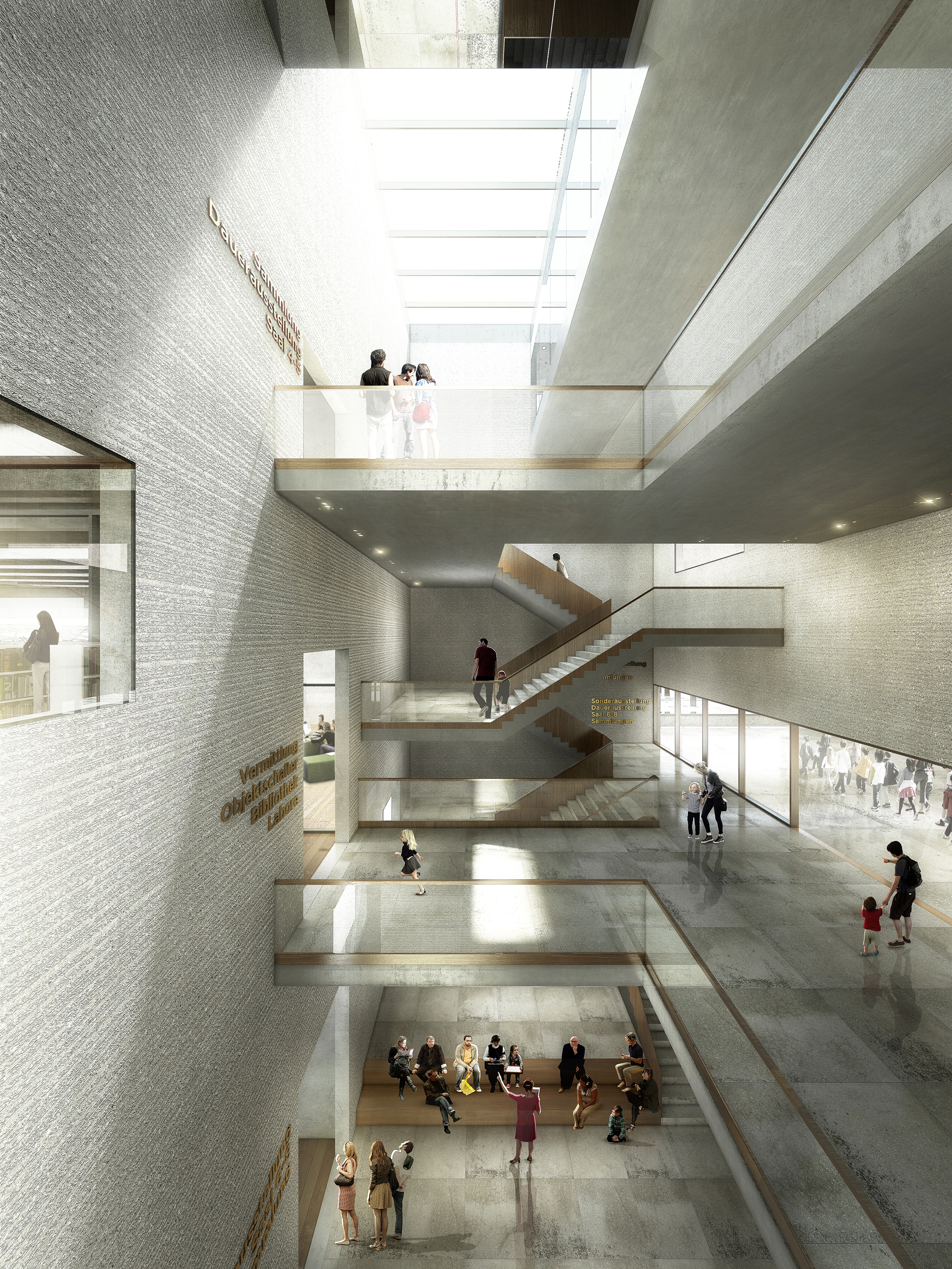 Gallery of em2n to build basel 39 s new museum of natural for Quality of space in architecture