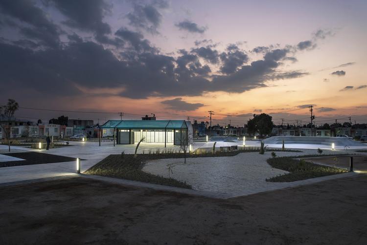 Joven despacho mexicano revitaliza localidad a través de la construcción de espacio público, © Jaime Navarro