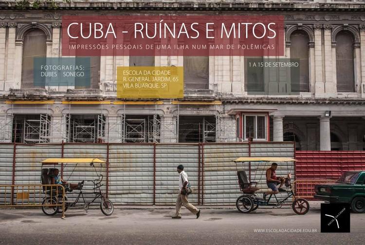Escola da Cidade promove exposição de fotografias sobre Cuba