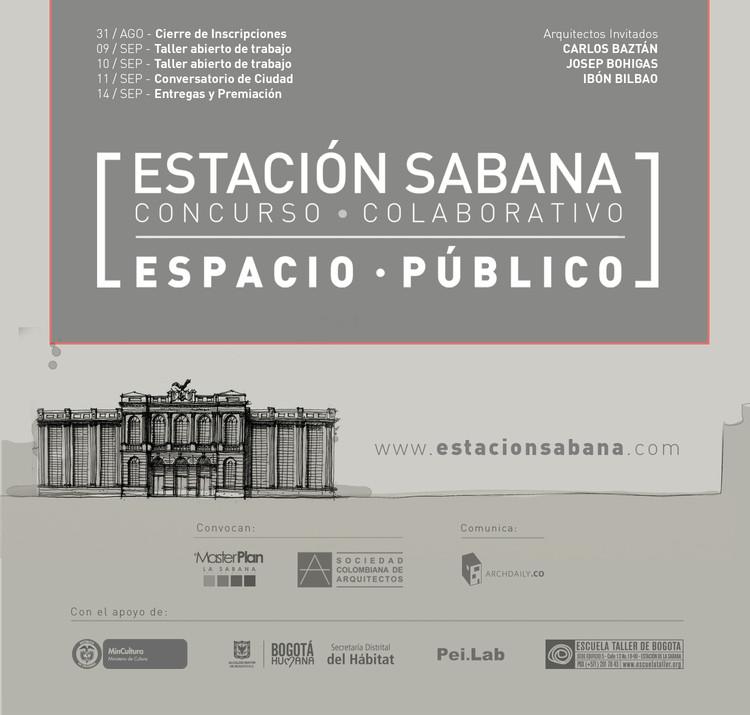 Concurso público colaborativo de anteproyecto arquitectónico para espacio público de plan parcial La Sabana
