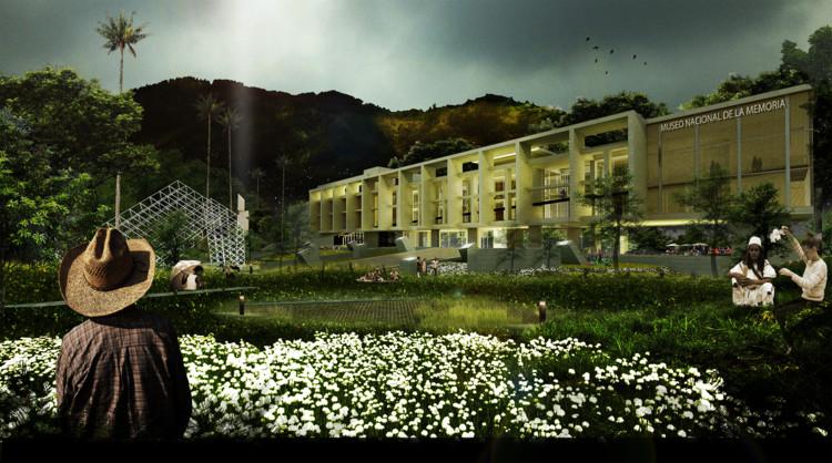 David Delgado Arquitectos, tercer lugar en concurso del futuro Museo Nacional de la Memoria de Colombia, Cortesía de David Delgado Arquitectos S.A.S.