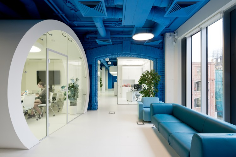 Optimedia media agency office nefa architects ilya ivanov