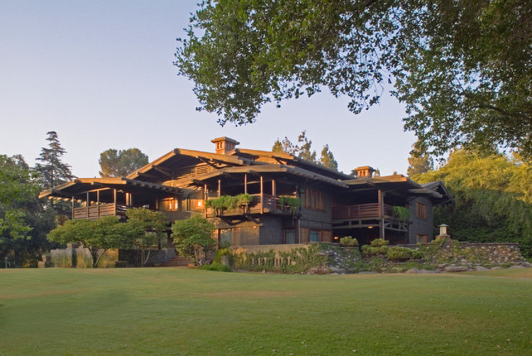 "Lecture & Panel Discussion: ""Building Paradise in California"", Pasadena's Gamble House. Photo by Alex Vertikoff"