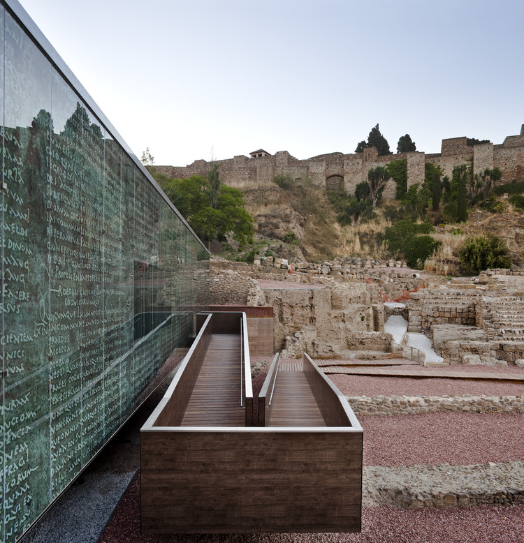Visitor Center of the Roman Theatre of Malaga / Tejedor Linares & asociados, © Fernando Alda