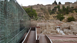 Visitor Center of the Roman Theatre of Malaga / Tejedor Linares & asociados