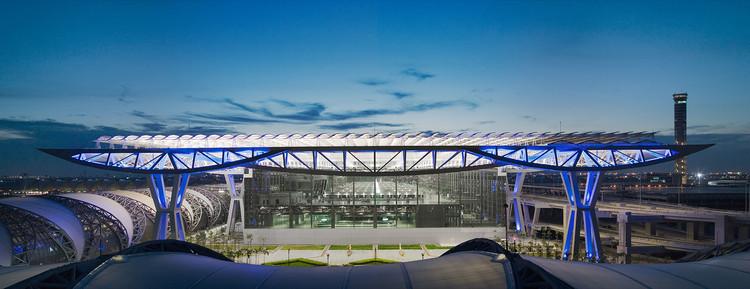 Passenger Terminal Complex Suvarnabhumi Airport Jahn Archdaily