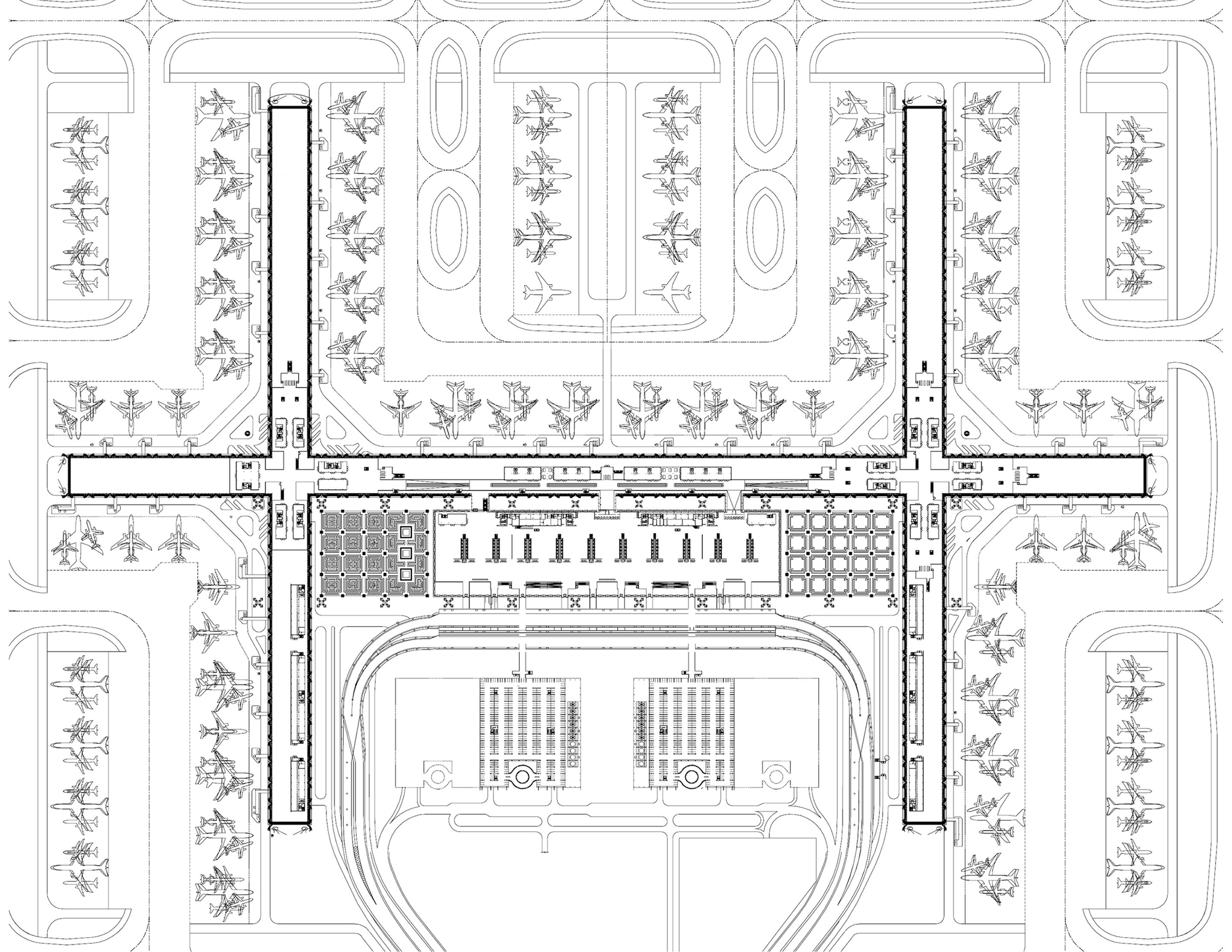 Gallery of passenger terminal complex suvarnabhumi airport - Planning and design of airports pdf ...