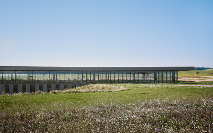 Winery in Oiry / Giovanni PACE Architecte, © Julien Lanoo