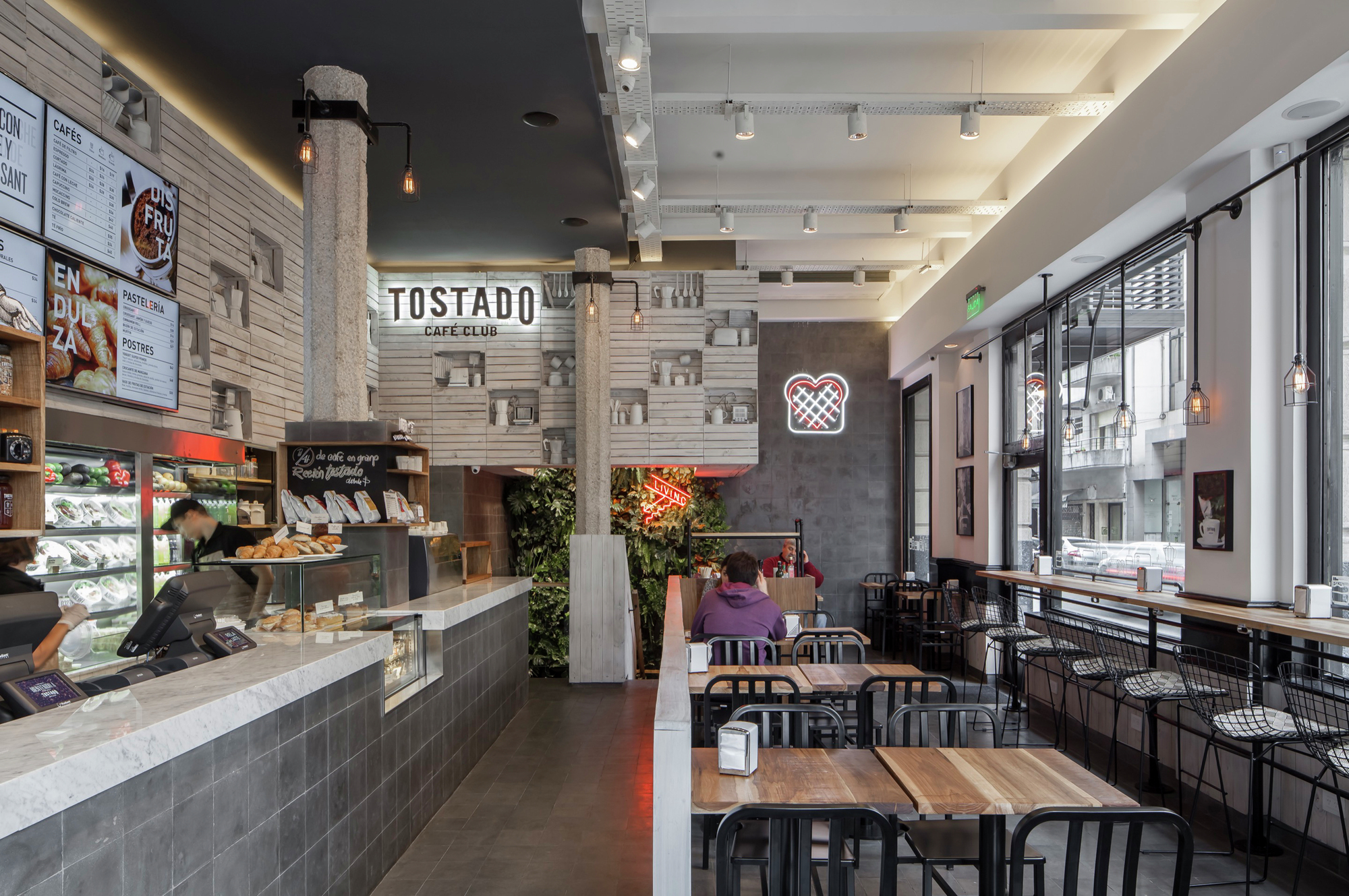 Tostado Cafe Club Hitzig Militello Arquitectos Archdaily