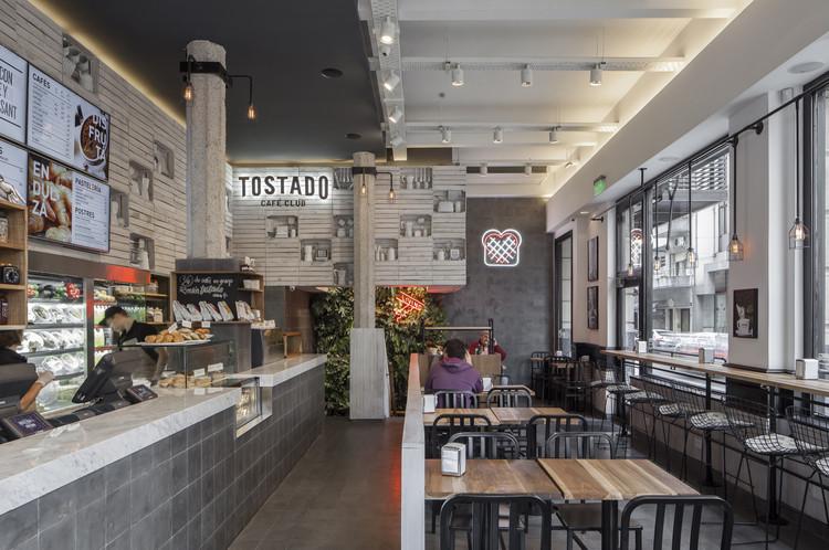 Tostado Café Club  / Hitzig Militello Arquitectos, © Federico Kulekdjian