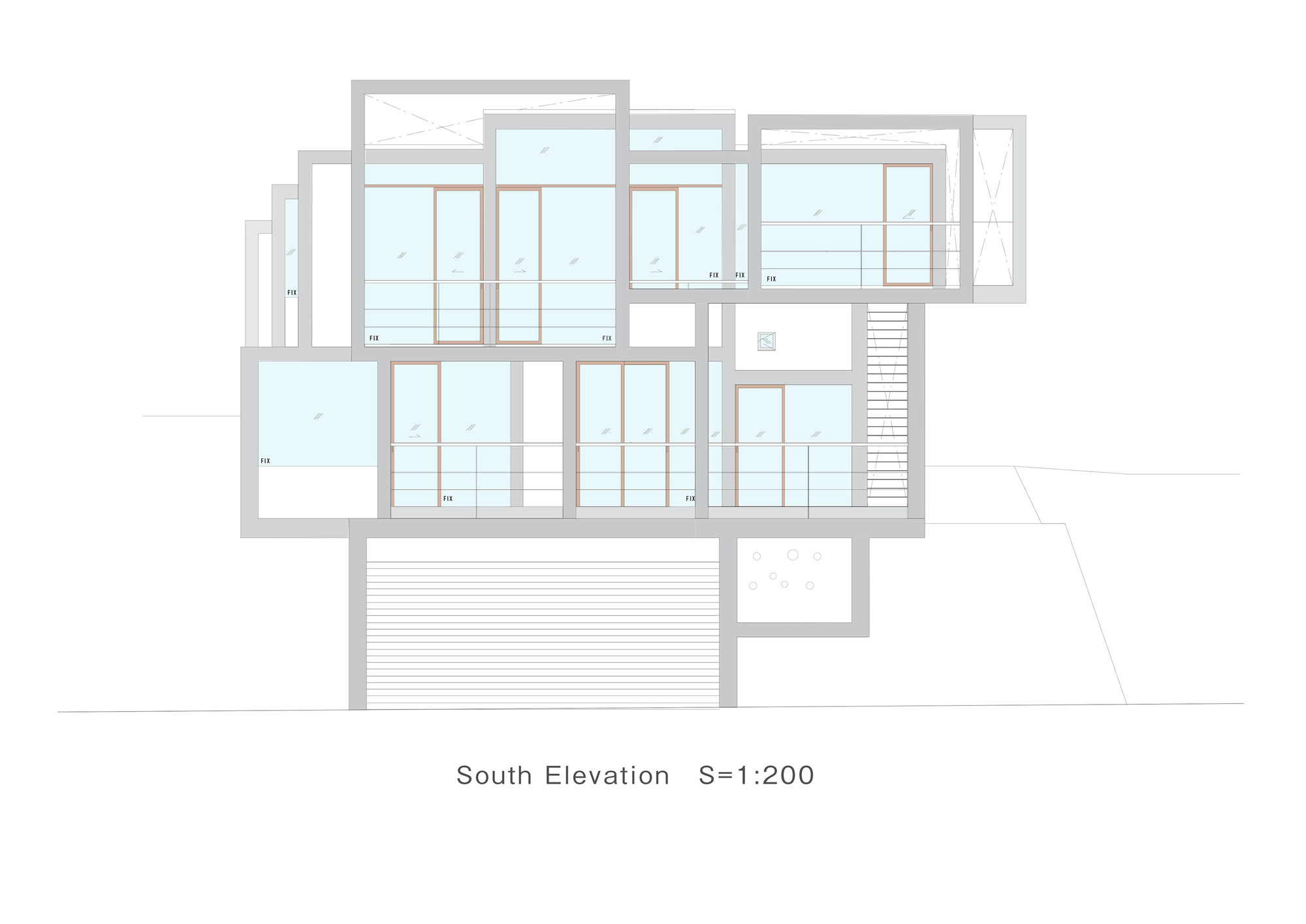 Galeria de casa deslizante y m design office 31 for Design office 4100
