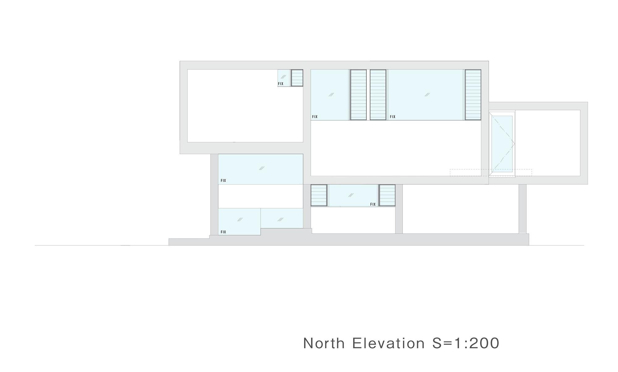 Galeria de casa deslizante y m design office 30 for Design office 4100