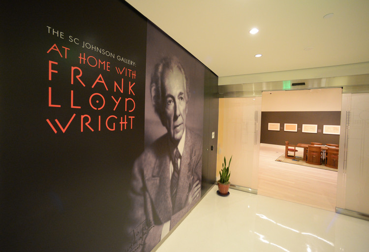 Frank Lloyd Wright's Wasmuth Portfolio on Display at SC Johnson's Headquarters, © SC Johnson
