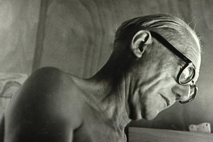 Los ojos de Le Corbusier: el paisaje representado en croquis, © Lucien Hervé