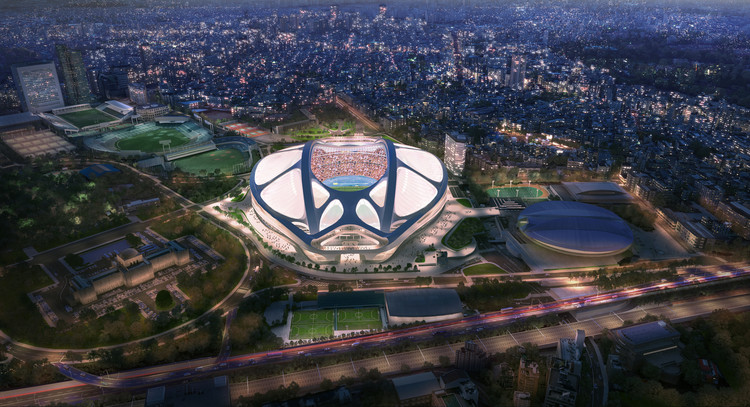 Some Thoughts on Zaha Hadid Architects' Campaign to Win Back the Tokyo Stadium Commission, © Zaha Hadid Architects. Image by Methanoia