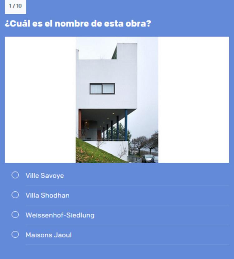 AD Quiz: ¿Sabes cómo se llama esta obra de Le Corbusier?