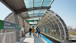 Cermak McCormick Place Station / Ross Barney Architects
