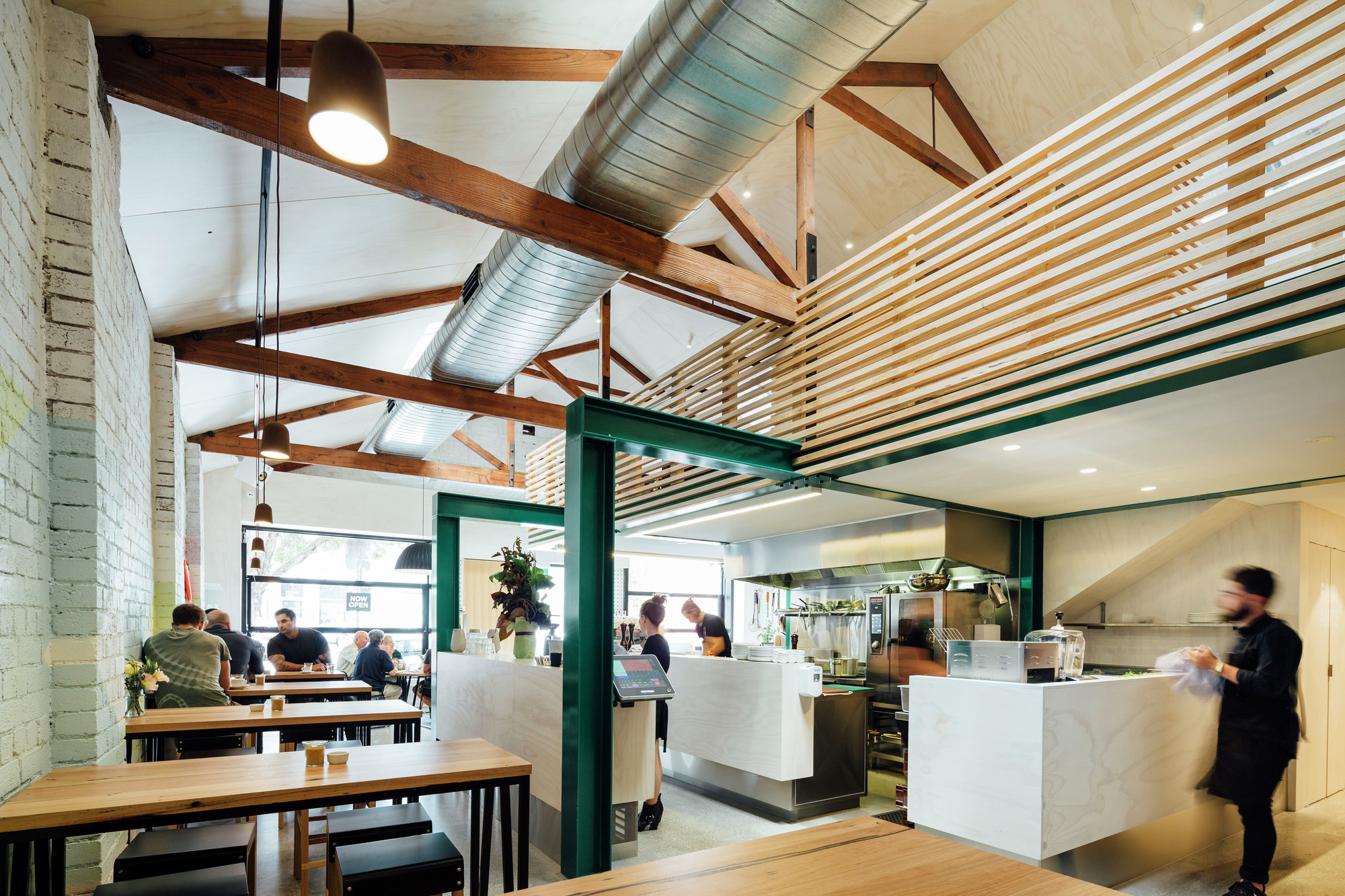 Small Restaurant Floor Plan Gallery Of Code Black Zwei Interiors Architecture 2
