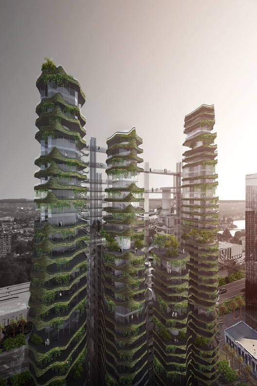 MAD Architects Envision the Future of Housing in Los Angeles, © MAD