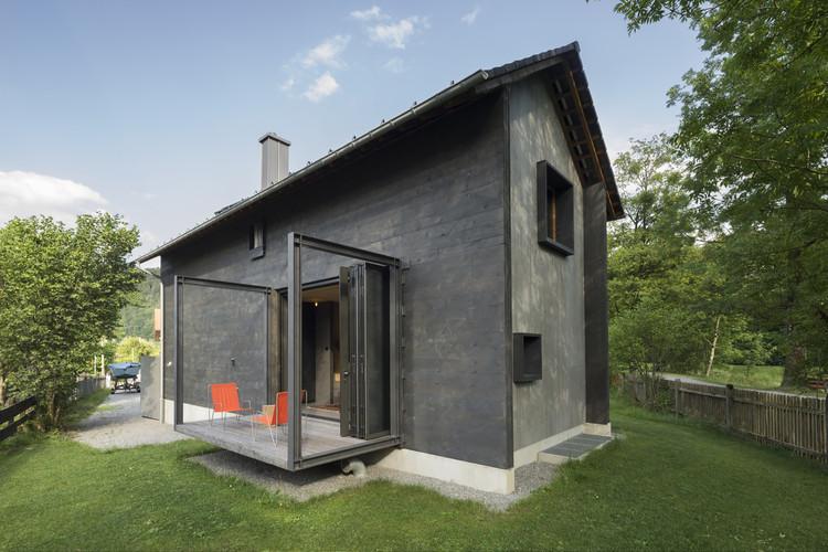 Holzhaus Am Auerbach Arnhard Eck Archdaily