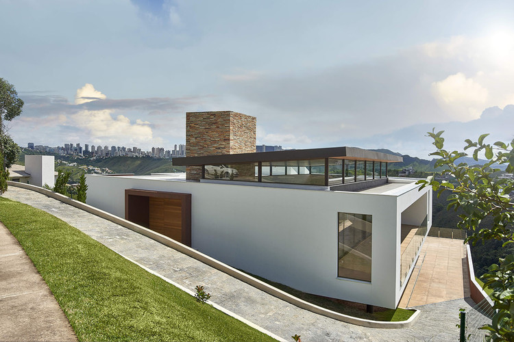 Valley House / David Guerra, © Jomar Bragança