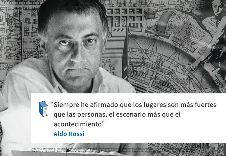 Frases Aldo Rossi Y La Arquitectura Como Escenario