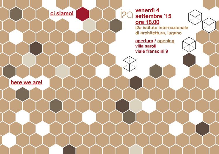 New i2a Venue Opening Party, i2a istituto internationale di architettura, Villa Saroli, Lugano