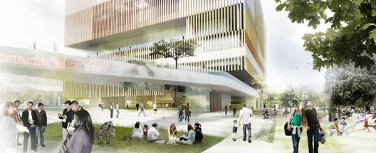 Propuesta Ganadora para el Centro Internacional de Convenciones de Bogotá / Bermúdez + Herreros
