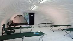 En Detalle: Refugio de Tela de Hormigón