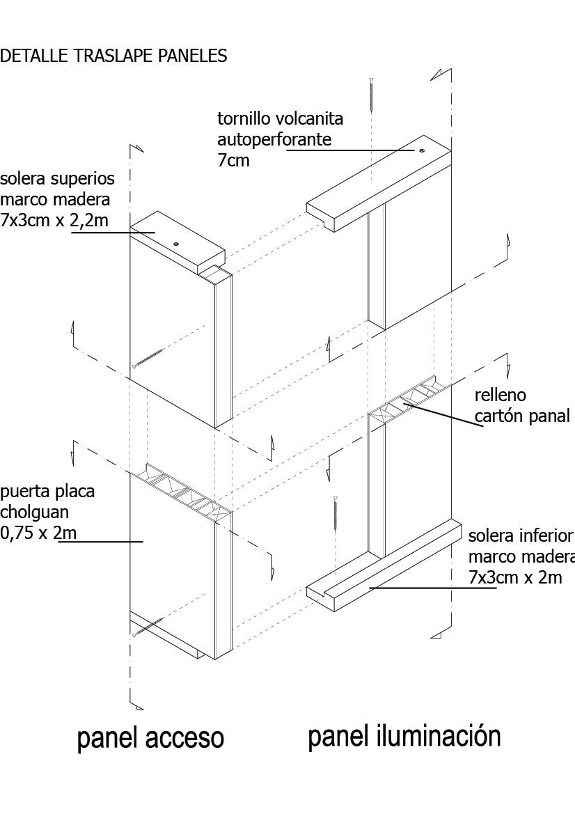 Galería de Prototipo Puertas - Vivienda de Emergencia / Cubo ...