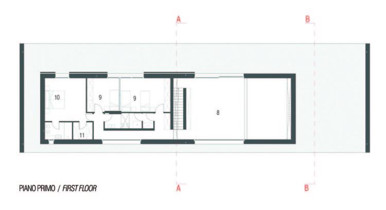 Casa en el estero morella andrea oliva plataforma for Plantas minimalistas