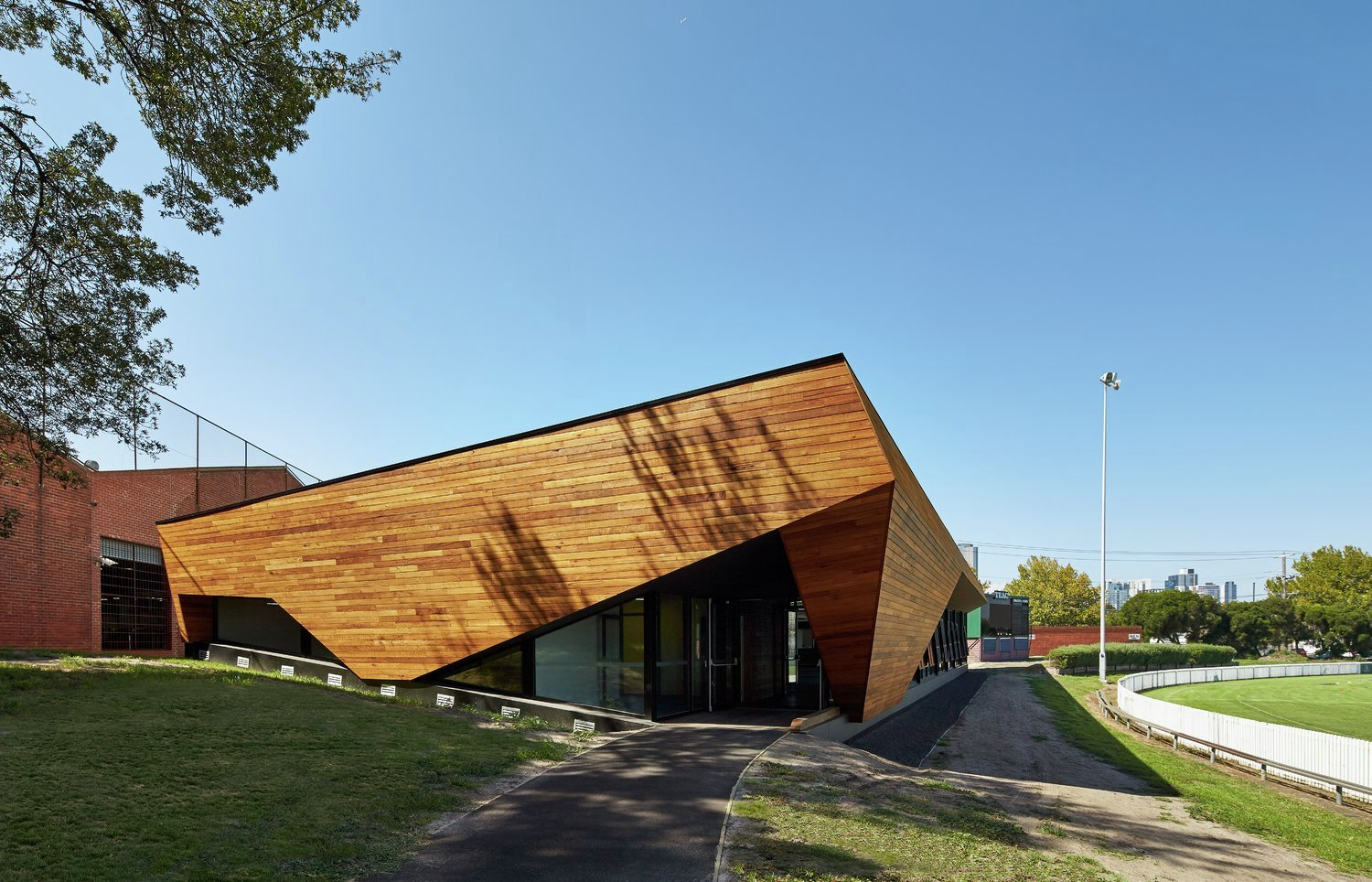 Port Melbourne Football Club K20 Architecture Archdaily