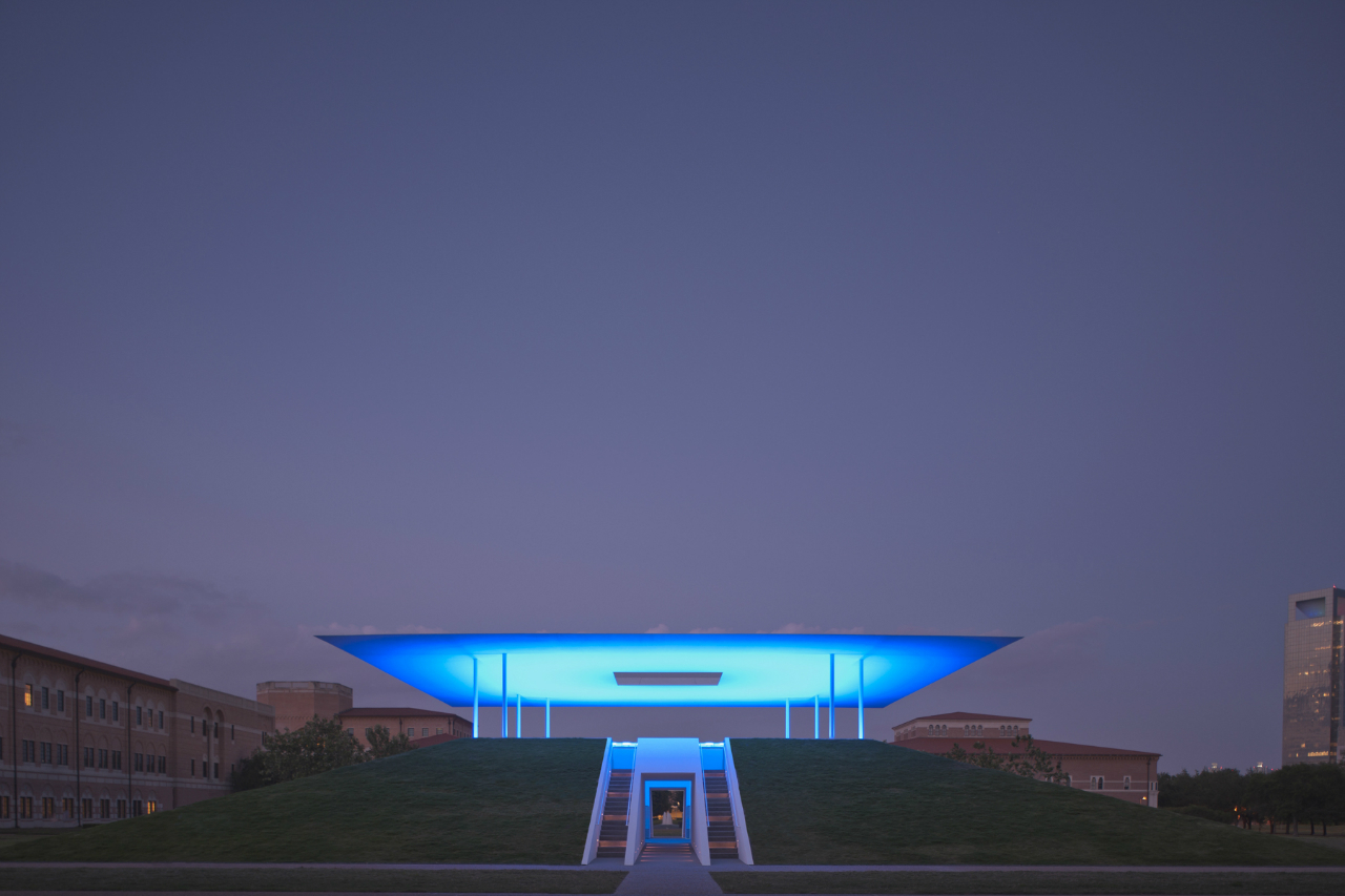 James Turrells Twilight Epiphany Skyspace opens today at Rice