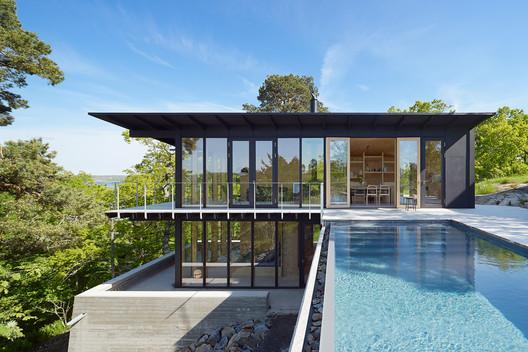 Aspvik House / Andreas Martin-Löf Arkitekter