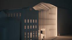 The Calls winning proposal by Fletcher Crane Architects