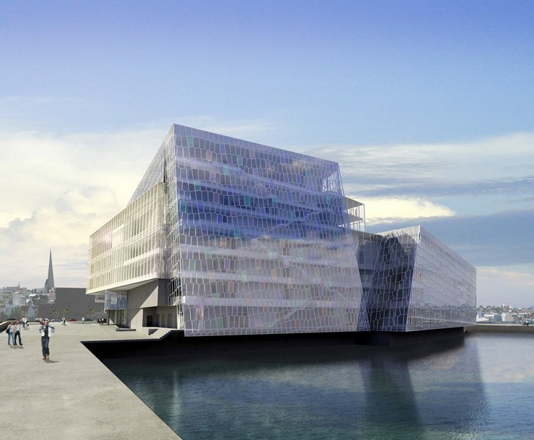 In Progress: Harpa Concert Hall and Conference Center / Henning Larsen Architects, © 2007 Portus ehf., Olafur Eliasson, and Henning Larsen Architects