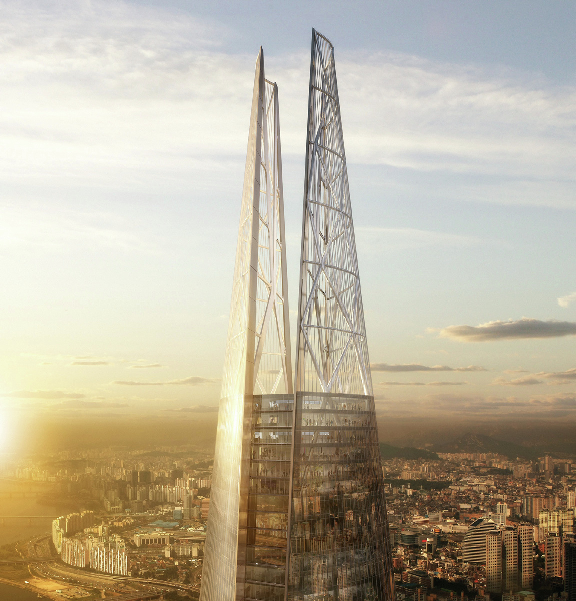 Lotte Super Tower Kpf Archdaily