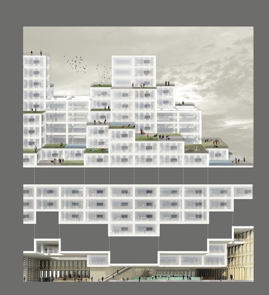Gallery Of Oma Wins Competition For Stadskantoor Building