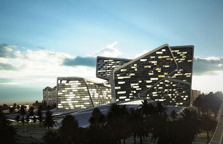 Vertical Village / Graft Lab | ArchDaily