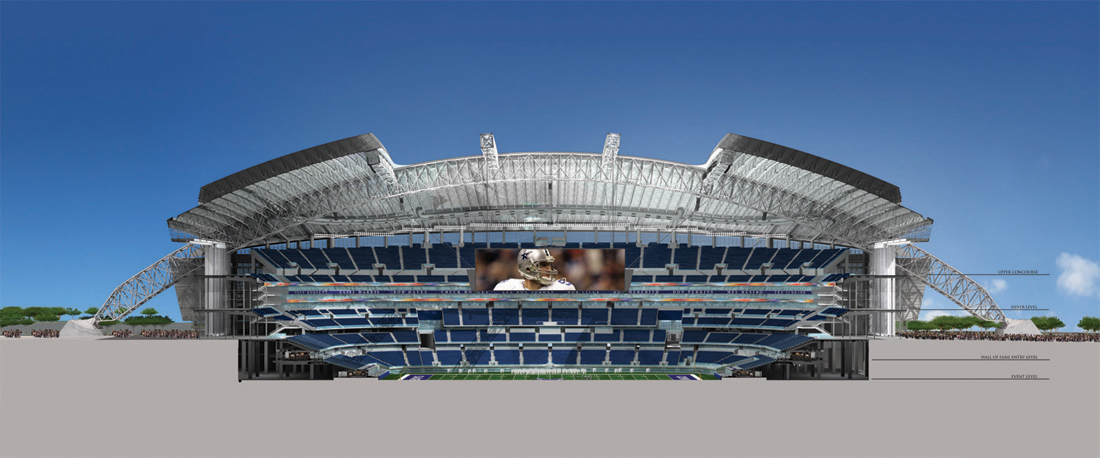Gallery of dallas cowboys stadium hks 11 zoom image view original size malvernweather Images